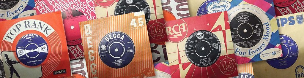 "7"" singles by Decca, Top Rank, Philips, RCA"