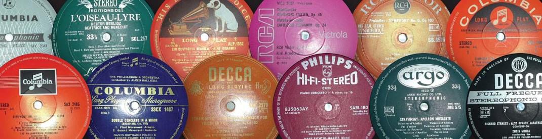 classica LP uk label guide