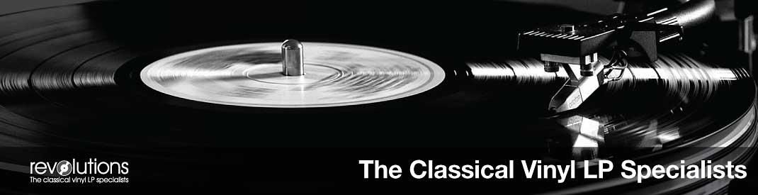 Revolutions records the classical vinyl LP specialists