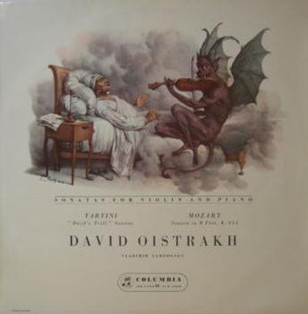 David Oistrakh mono LPs on columbia record label