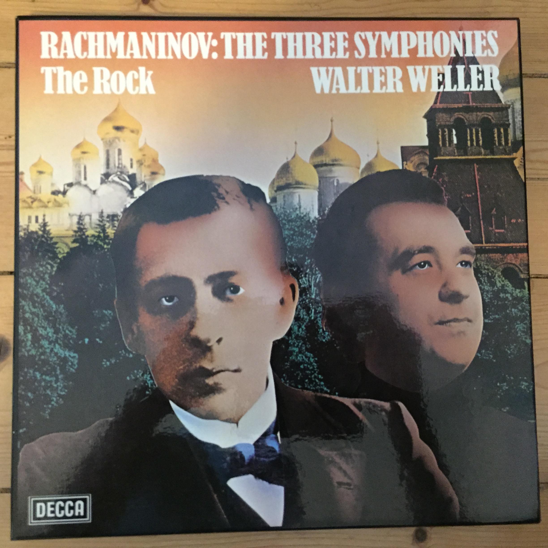 D9D 3 Rachmaninov The Three Symphonies / The Rock
