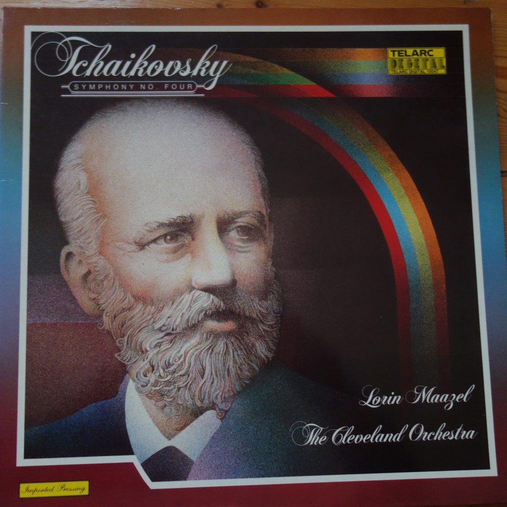 Telarc 10047 Tchaikovsky Symphony No. 4 / Maazel / Cleveland Orchestra