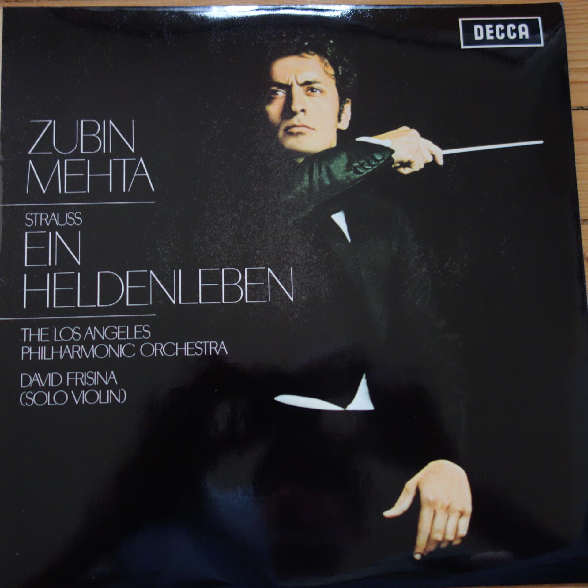 SXL 6382 Richard Strauss Ein Heldenleben / Mehta