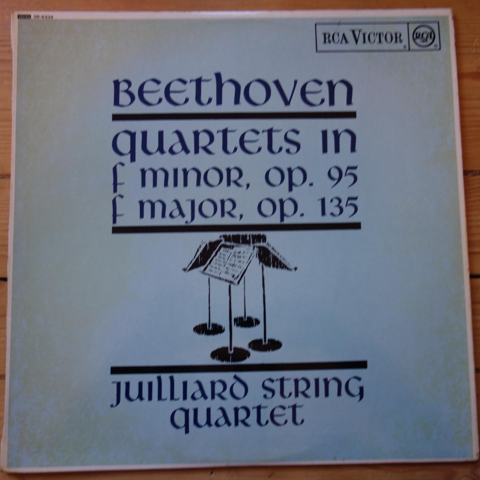 SB 6534 Beethoven Quartets Op. 95 & 131 / Juilliard R/S