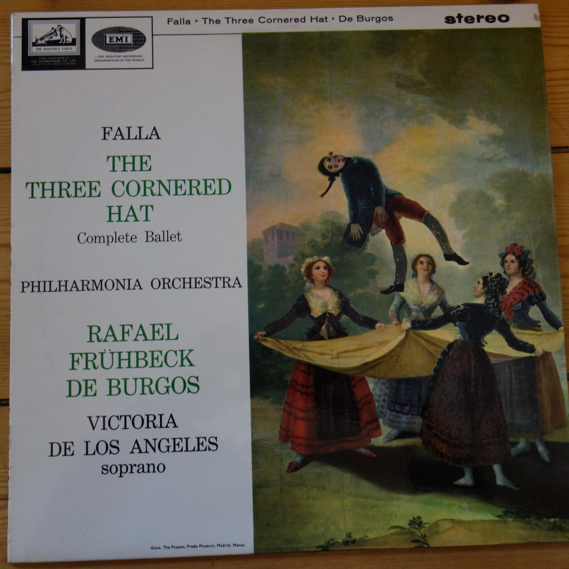 ASD 608 Falla The Three Cornered Hat / De Burgos / Los Angeles