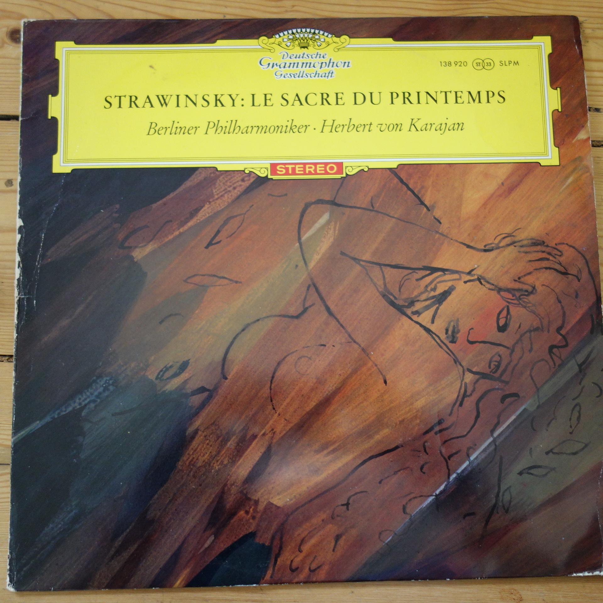 138 920 Stravinky Le Sacre Du Printemps / Karajan / BPO