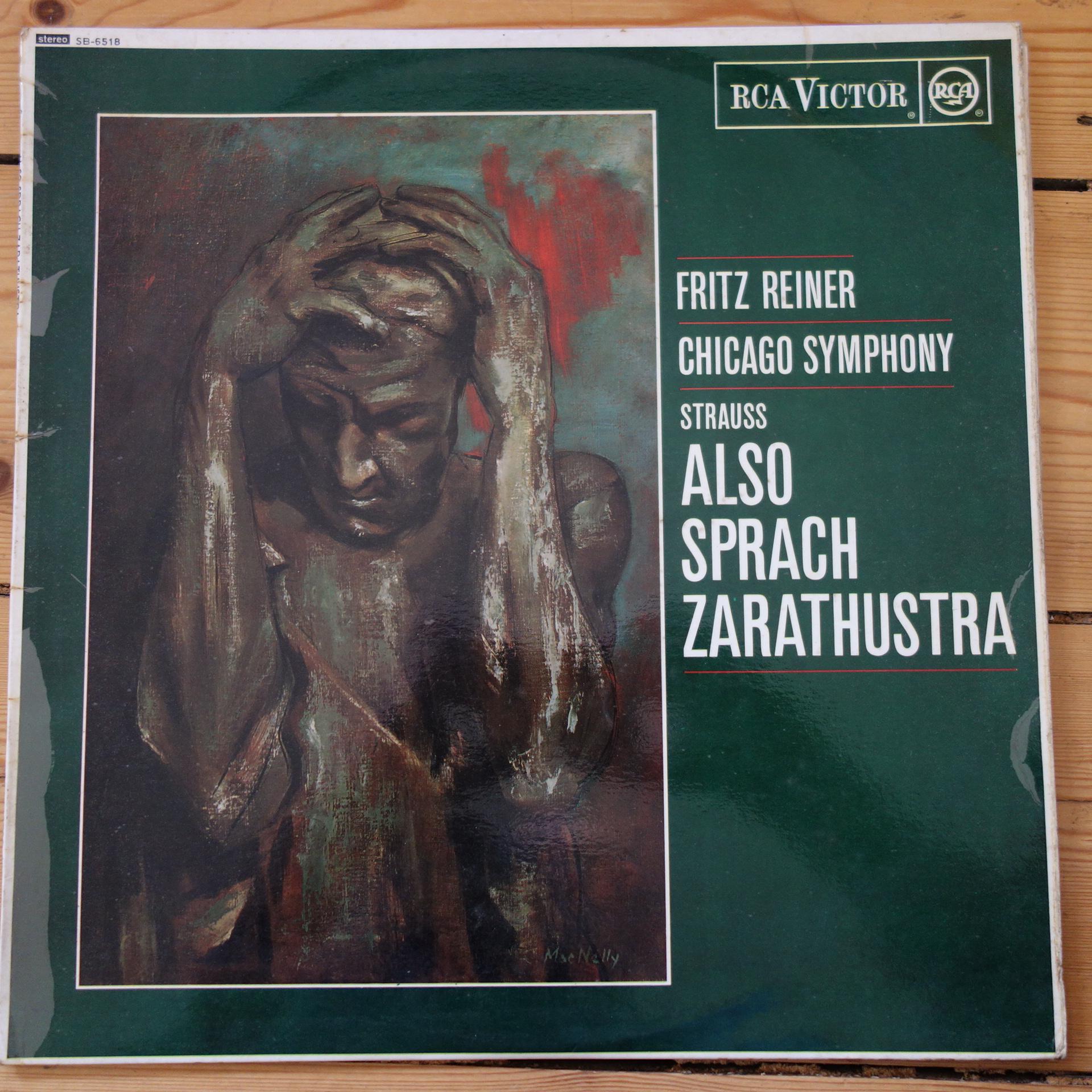 SB 6518 Strauss Also sprach Zarathustra / Reiner GD R/S
