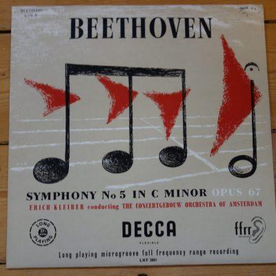 LXT 2851 Beethoven Symphony No. 5 / Erich Kleiber / Concertgebouw