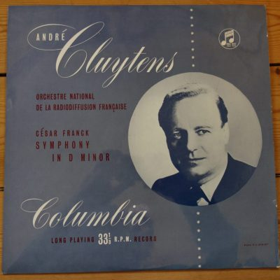 33CX 1064 Franck Symphony in D Minor / Cluytens /