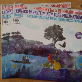 CBS 71281/83 Mahler Symphony No.5 / Bernstein / NY Phil 2 LP set