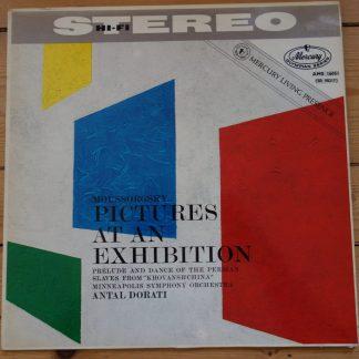 AMS 16051 Mussorgsky Pictures Exhibition / Dorati P/S