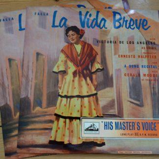 ALP 1150/51 Falla La Vida Breve, etc. / Los Angeles / Halffter