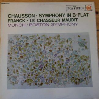 SB 6528 Chausson Symphony in B flat etc. / Munch