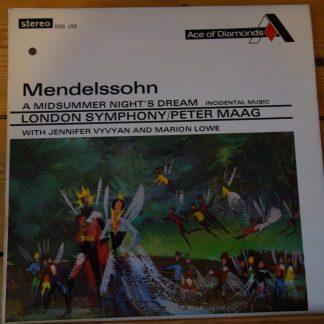 SDD 159 Mendelssohn A Midsummer Night's Dream / Maag etc.