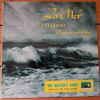 ALP 1070 Debussy La Mer / Ravel Daphnis et Chloe / Toscanini NBCSO