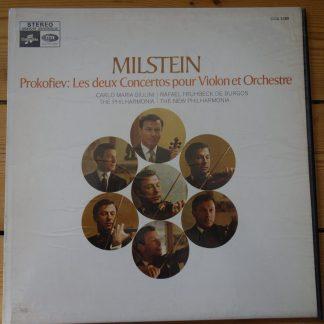 CCA 1089 Prokofiev Violin Concertos / Milstein / De Burgos / Giulini