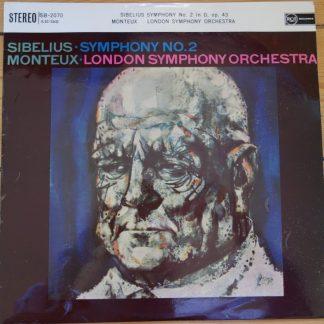 SB 2070 Sibelius Symphony No. 2 / Monteux
