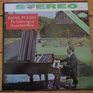 SR 90304 The Golden Age of Harpsichord Music / Rafael Puyana
