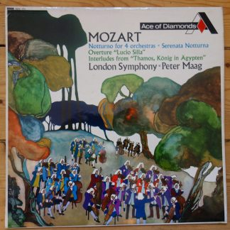 SDD 171 Mozart Notturno for 4 Orch, etc, / Peter Maag