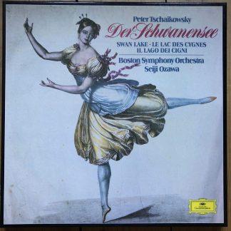 2709 099 Tchaikovsky Swan Lake / Seiji Ozawa / Boston SO 3 LP box