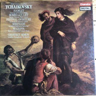 DBRD 2003 Tchaikovsky Orchestral Music / Simon 2 LP box