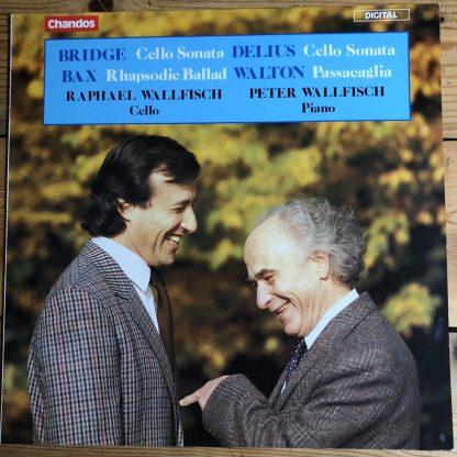 ABRD 1209 Bridge Delius Cello Sonatas Bax Rhapsodie Walton Passaeaglia Wallfisch