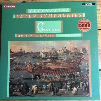 DBRD 3005 Boccherini Seven Symphonies / Cantilena / Adrian Shepherd 3 LP box
