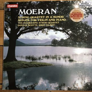 ABRD 1168 Moeran String Quartet / Violin Sonata / Scotts / Talbot String Quartet