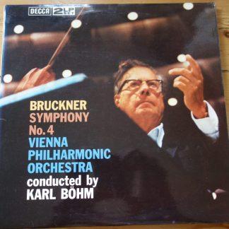 6BB 171/2 Bruckner Symphony N. 4 / Bohm / VPO 2 LP set