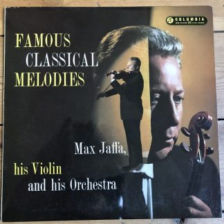 33SX 1163 Famous Classical Melodies Max Jaffa & his Orchestra G/G