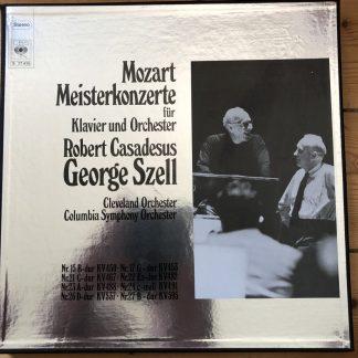 CBS S 77 415 Mozart Piano Concertos / Casadesus / Szell