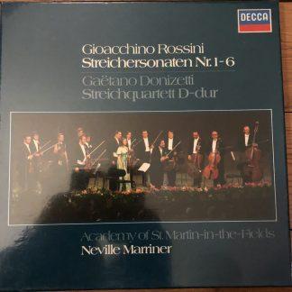 6.35147 Rossini String Sonatas etc. / Marriner / ASMF