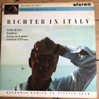 ASD 520 Richter In Italy Schuman Sonata No.2/ Papillons / Carnival Of Vienna C/