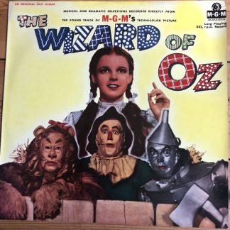 MGMC 757 The Wizard of Oz Judy Garland- Original UK MGM soundtrack LP