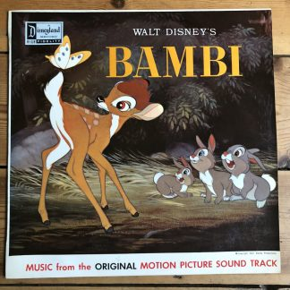 DPL 39001 Walt Disney's Bambi original Motion Picture Soundtrack