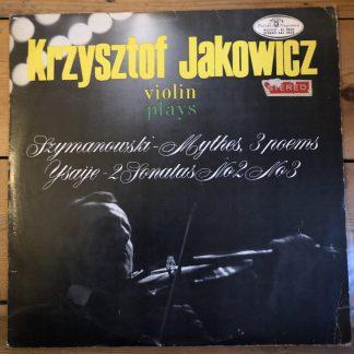 SXL 0522 Krysztof Jakowski plays Szymanowski Mythes