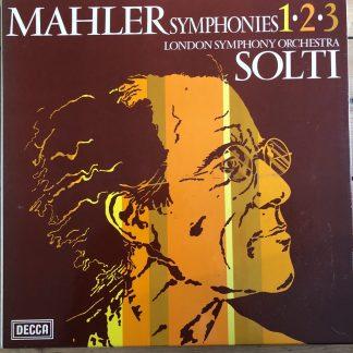 7BB 173/177 Mahler Symphonies 1,2 & 3 / Solti /