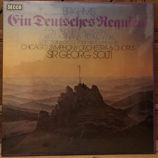 D135D 2 Brahms Germa Requiem / Kiri Te Kanawa / Solti