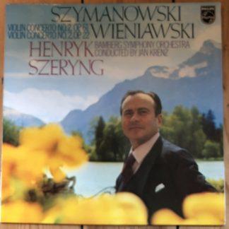 6500 421 Szymanowski / Wieniawski Violin Concertos / Szeryng / Krenz / Bamberg