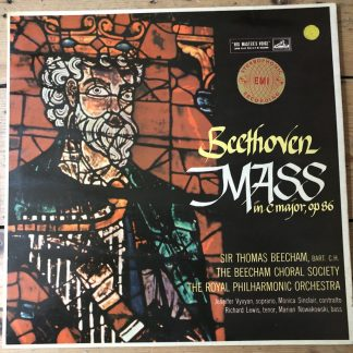 ASD 280 Beethoven Mass in C / Thomas Beecham / RPO W/G