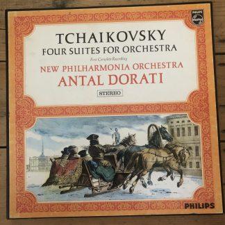 SBAL 22 Tchaikovsky Four Suites for Orchestra / Dorati / New Philh 3 LP box P/S
