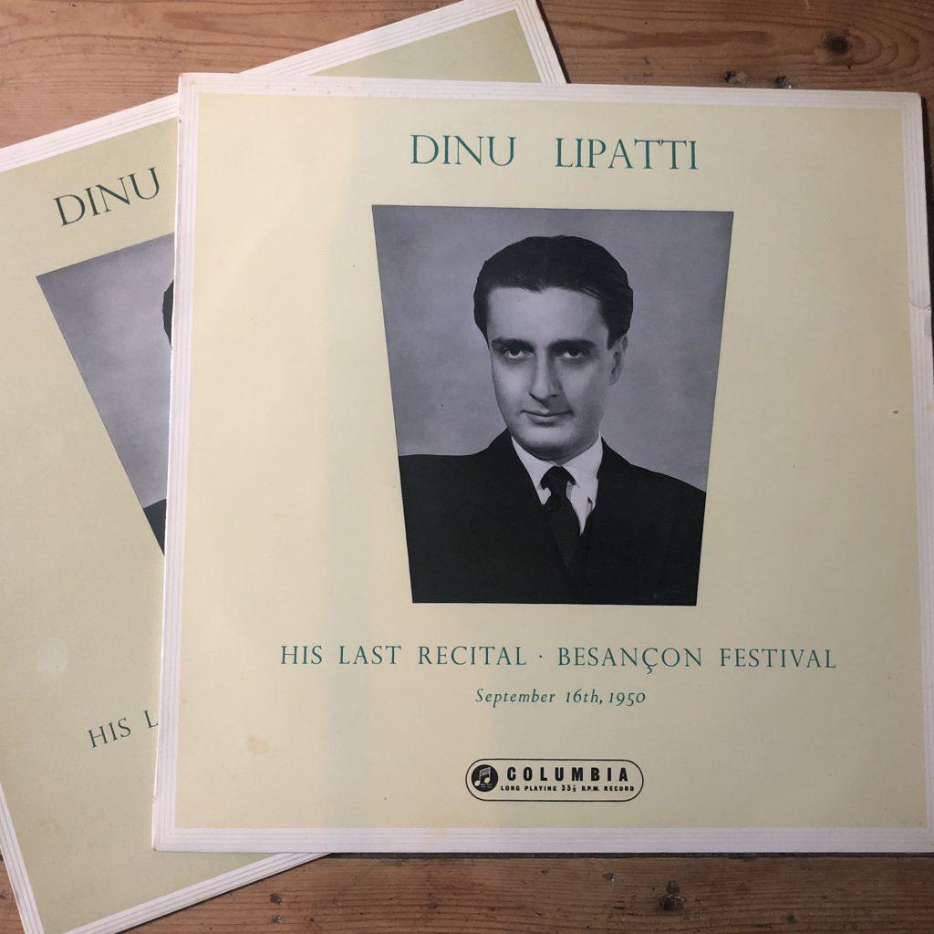 33CX 1499/1500 Dinu Lipatti Last Recital Besançon Festival B/G 2 LP set