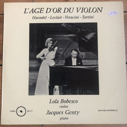 Alpha DB 177 L'Age D'Or Du Violin