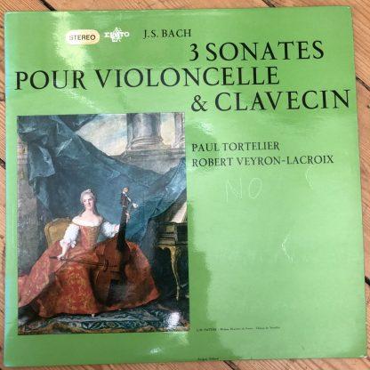 STE 50166 Bach 3 Sonatas For Cello & Harpsichord