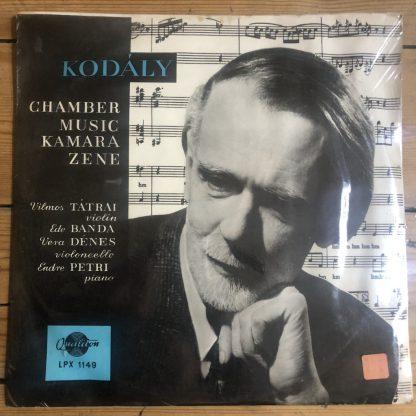 LPX 1149 Kodály Cello Sonata / Adagio For Cello, etc.