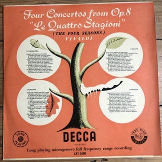 LXT 2600 Vivaldi The Four Seasons