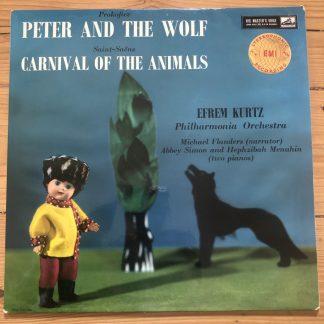 ASD 299 Prokofiev Peter and the Wolf etc. / Kurtz etc. W/G