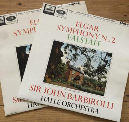 ASD 610-611 Elgar Symphony No. 2 etc. / Barbirolli