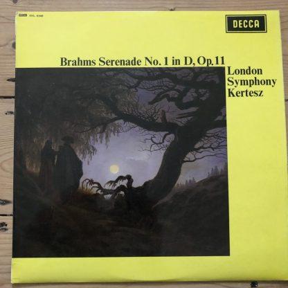 SXL 6340 Brahms Serenade No. 1 / Kertesz W/B