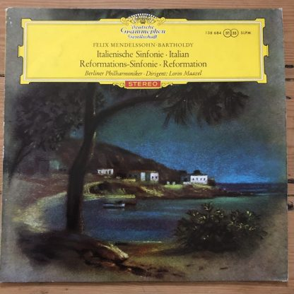 138 684 Mendelssohn Symphonies Nos. 4 & 5 / Maazel
